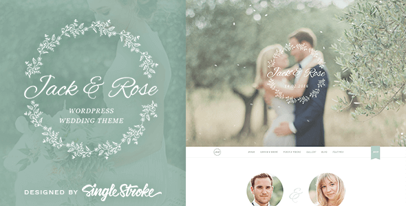 Create a wedding website with WordPress